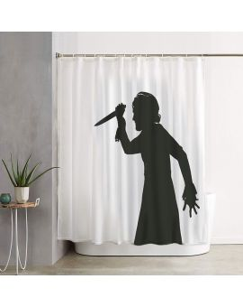Psicosis Shower Curtain