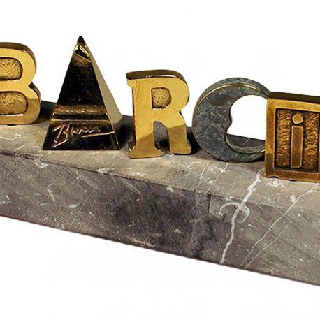 Escultura BÀRCINO
