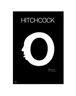 Hitchcock poster by Joan Brossa