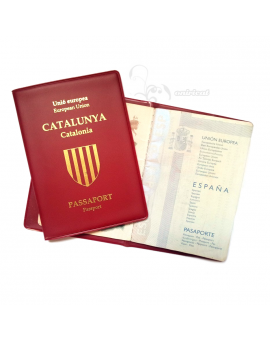 Catalan passport holder