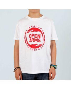 T-shirt pour enfants Open Arms
