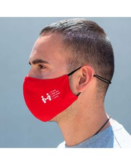 Self-adjusting reusable mask