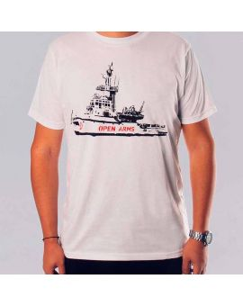 Open Arms boat T-shirt