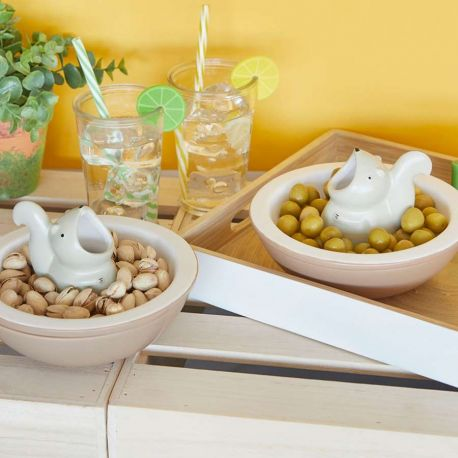 Hungry Squirrel appetizer bowl