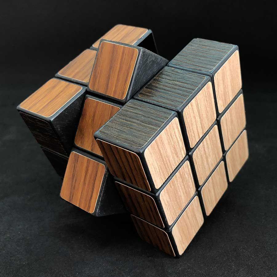 Cubo mágico Fusta