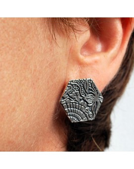 Gaudí panot earrings