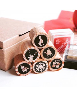 Christmas stamps kit