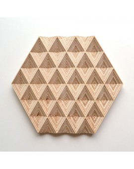 Hexagonal shelves