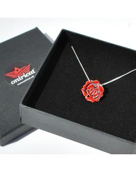Rosa Sant Jordi pendant