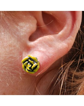 Sant Jordi yellow earrings