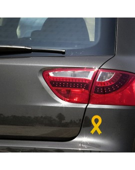 Yellow ribbon stickers