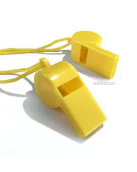 Yellow whistle