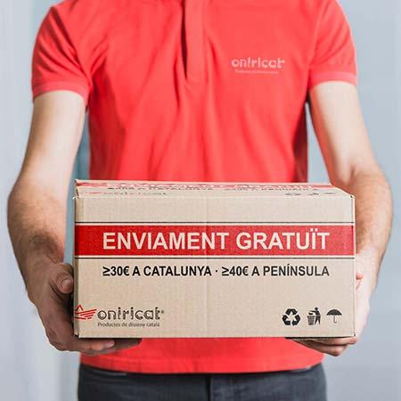 Enviament gratuït per comandes ≥ 10€ a Catalunya fins el 31 de maig de 2019